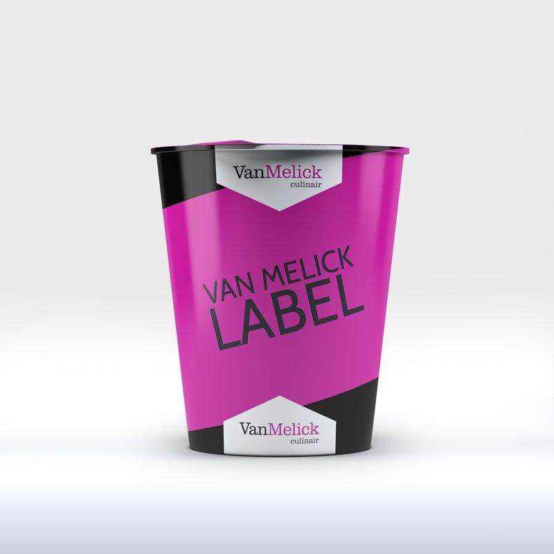 van melick label food
