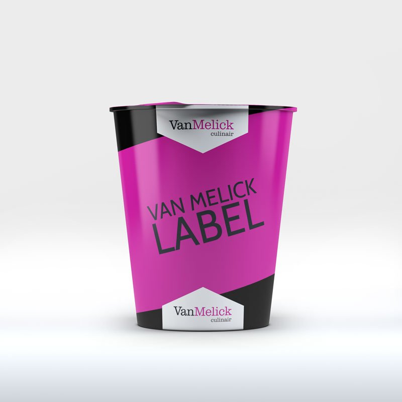 van melick label food